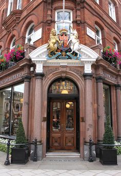 Purdey: Audley House ~ South Audley Street by curry15, via Flickr-England