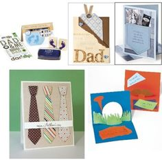 Free Fathers Day card projects
