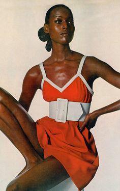 Naomi Sims, Vogue 1970