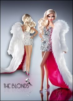 The Blonds Blond Diamond Barbie Doll