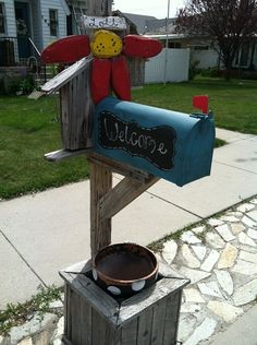 Why not paint your mailbox blue?