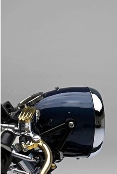 Nice motorcycle front lamp.