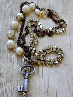 Re-purposed vintage jewelry