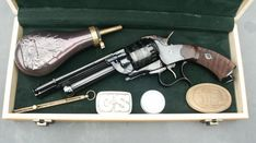 The LeMat revolver was a .42 or .36 caliber cap & ball black powder revolver invented by Dr. Jean Alexandre LeMat of New Orleans, which featured a rather unusual secondary 16 gauge smoothbore barrel capable of firing buckshot, and saw service with the armed forces of the Confederate States of America during the American Civil War of 1861–65.