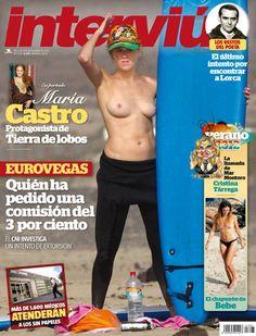 María Castro, pillada en topless por Interviú