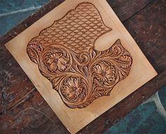leather work basket weave