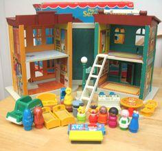 Sesame Street Little People Playset