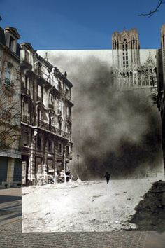 100 Years Later: First World War Photos Superimposed on the Locations Today