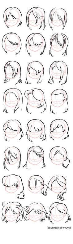 How to draw Hairstyl