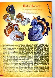 Crochet hen + diagrama