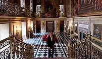 Chatsworth - entrance hall, England