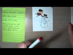 + Coloring a snowman with Copic markers
