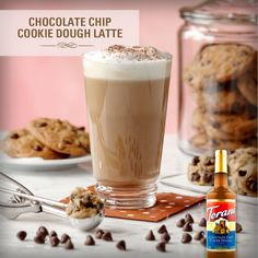 We know you want the Chocolate Chip Cookie Dough Latte! Yum!