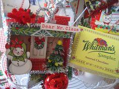 Creative Breathing: Whitman's Candy Box Ornament Swap