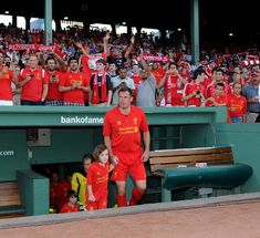 Carra in action as the Reds travel to North America for their pre-season tour