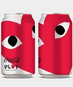 commes de garcon coke can   http://www.refinery29.com/karl-lagerfeld-grocery-shopping  #designer #coke #cans #want #limited
