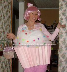 halloween costume ideas, diy halloween costumes, halloween cupcakes, cupcak costum, homemade costumes, pink cupcakes, costum idea, halloween ideas, homemade halloween costumes