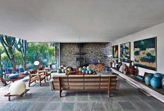 mid century modern villa in belgium