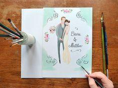 The Special Relationship - Custom wedding Portrait