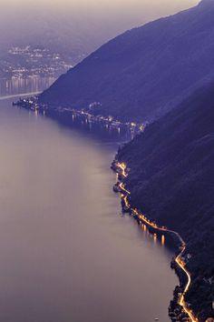 Road to Como Italy