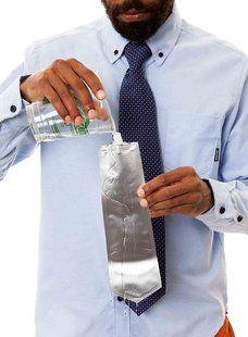 Hidden Flask Tie