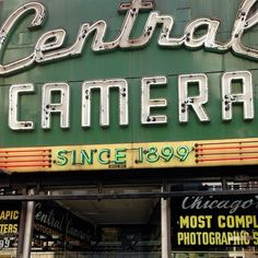 Meanwhile in Chicago… (at Central Camera)