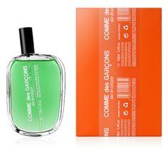Comme Des Garcons packaging by Marc Atlan Design