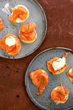 Gravlax with Blinis (Cured Salmon with Thin Pancakes) | SAVEUR
