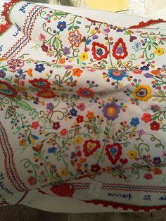 Lenço dos Namorados, tradicional embrodery #Marvao #Alentejo #Portugal