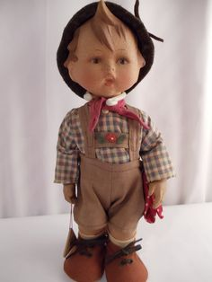 Hummel Rare Rubber Doll MAX Vintage 1950's by BuslinHeirlooms, $85.00