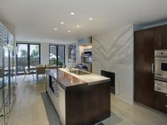Kitchen - Sarah Jessica Parker and Matthew Broderick's NY home