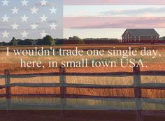 Small town USA <3
