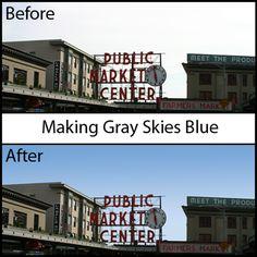 Making Gray/Grey Skies Blue