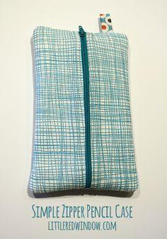 craft, bag, zipper pencil, simpl zipper, pencil cases