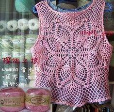 Tecendo Artes em Crochet: Blusas Lindas de crochê com Receitas!