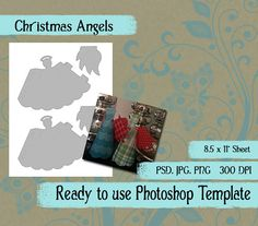 Scrapbook Digital Collage Photoshop by VintageImagesInTime on Etsy, $2.00
