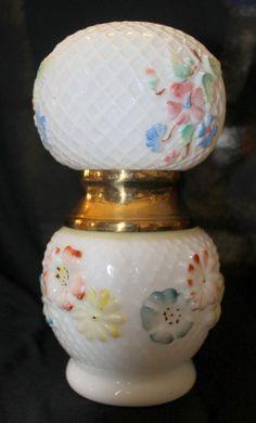 Victorian Cosmos Miniature Oil Lamp