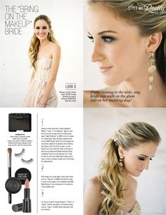 """a how-to makeup guide for the Bride that says """"Bring on the Makeup"""" See the full feature in our Fashion & beauty E-Mag http://issuu.com/stylemepretty/docs/stylemepretty_fashion_beauty_magazine/32  Photography by http://josevillaphoto.com/, Makup and Styling by http://www.teamhairandmakeupservice.com/"""
