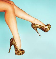 Leopard wedding shoes @Tonya Kirby
