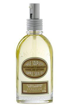 L'Occitane must have supple skin oil ... smells like heaven!