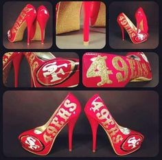 Id ROCK these!!!! Niners Baby!!!