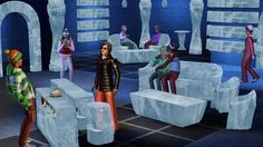 Attend or host your first ever winter party in Sims 3 Seasons. Everything is rock solid ice including the seats, tables, and walls. It is not everyday you can experience this kind of place to party but Sims 3 Seasons game will let you experience it for free especially when you have Sims 3 Seasons Crack in your pc!