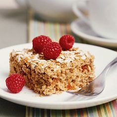 This hearty oatmeal cake is perfect for dessert or a snack. The applesauce imparts flavor and moisture and replaces some fat, making for a lower-fat cake.