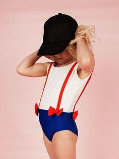 Brace swimsuit by Mini Rodini