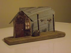 A driftwood house for Lynn (different angle)