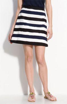 Kate Spade Striped 'Delphina' Skirt