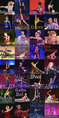 All the solos Chloe lukasiak ever had!!