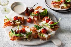 This BLT bruschetta recipe is will delight your guests.
