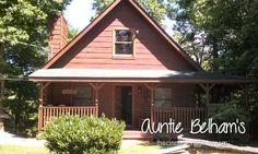 "Enjoy The ""Country Charm"" At Auntie Belham's Cabin Rentals. Lot's Of Photos. @Karen Hendrickson Belhams"