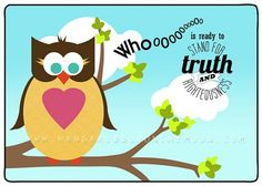 Adorable Young Women in Excellence or New Beginnings: Whooo Is Ready to Stand for Truth and Righteousness. Lots of printables: invitations, posters, program cover, tags & name cards. PLUS: Adorable owls to give the girls and refreshment/decor ideas! From Hang a Ribbon on the Moon.